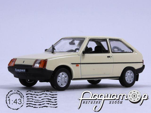 Автолегенды СССР №60, ЗАЗ-1102 «Таврия» (1988) (ZU)