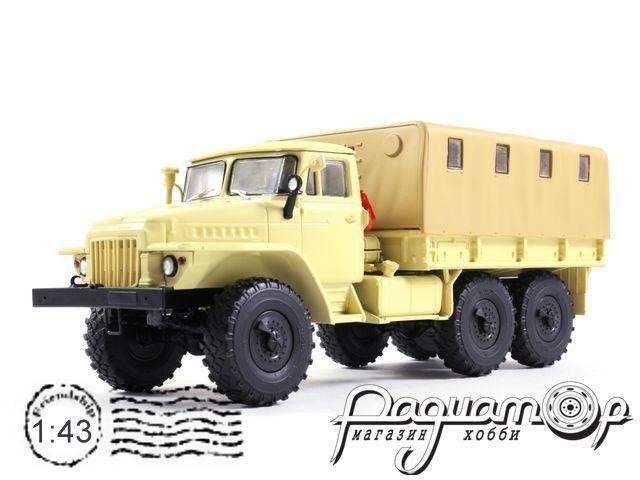 УРАЛ-375Д бортовой с тентом (1961) 100268-B