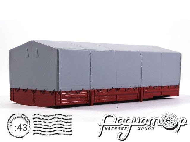 Борт с тентом, красный (для установки на ЗиЛ 133/133ГЯ) лимитированная серия