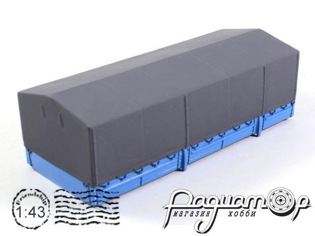 Борт с тентом, синий (для установки на ЗиЛ 133/133ГЯ) лимитированная серия