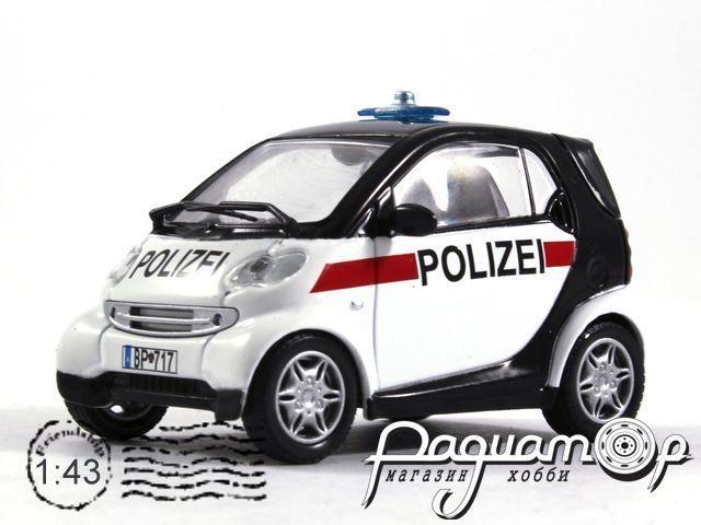 Полицейские машины мира №45, Smart City Coupe Полиция Австрии (1998)