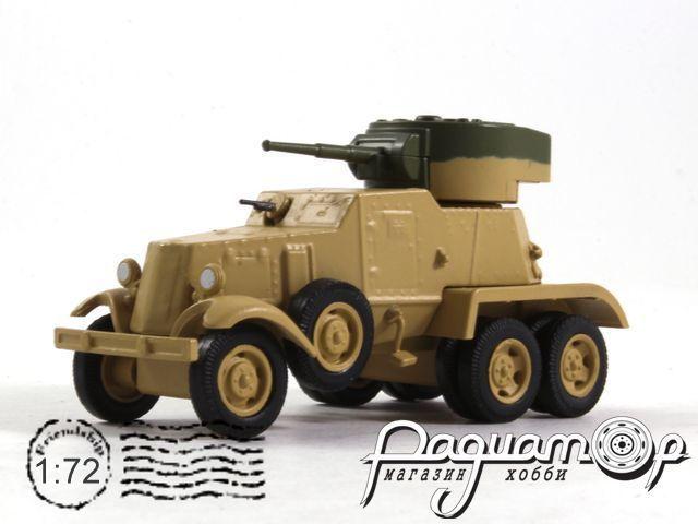 Русские танки №106, БА-6 (1934)