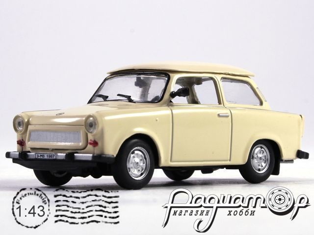 Автолегенды СССР и Соцстран №151, Trabant 601 (1963)