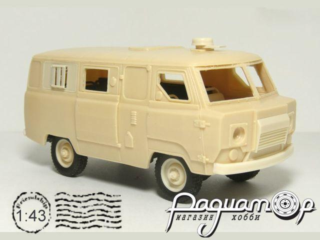 Сборная модель УАЗ Коналю-330 Броневик (1990) MM1004