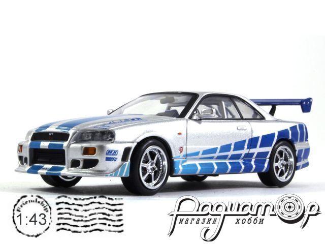 Nissan Skyline GT-R (R34) из к/ф
