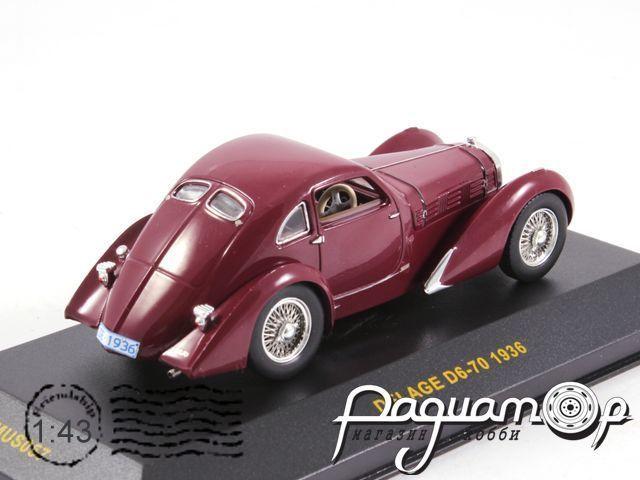 Delage D6-70 (1936) MUS057