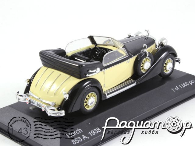 Horch 853A (1938) WB068 (Z)