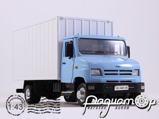 ЗИЛ-5301 «Бычок» контейнер (1996)  BR-57111
