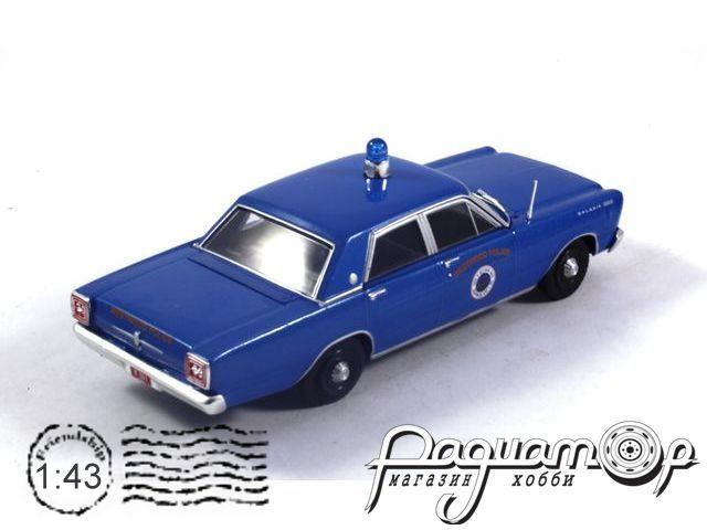 Полицейские машины мира №46, Ford Galaxie 500 Полиция Вествуда, США (1965)