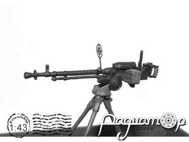 Сборная модель Пулемет ДШК MC001