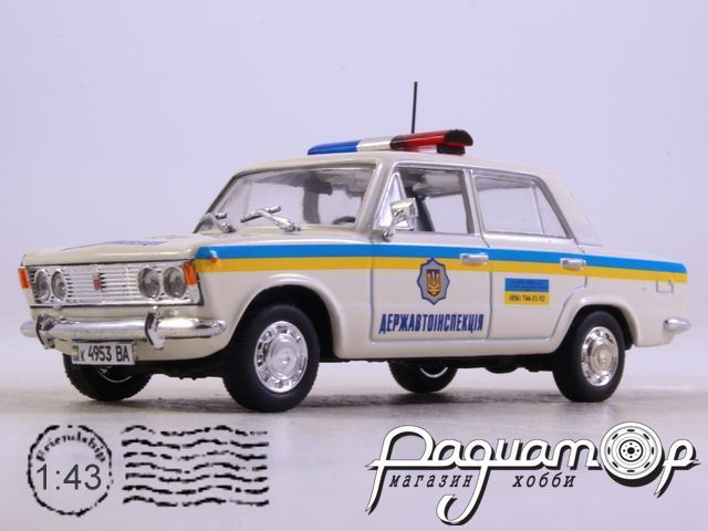 Fiat 125P ДПС Украины (1967) 0490