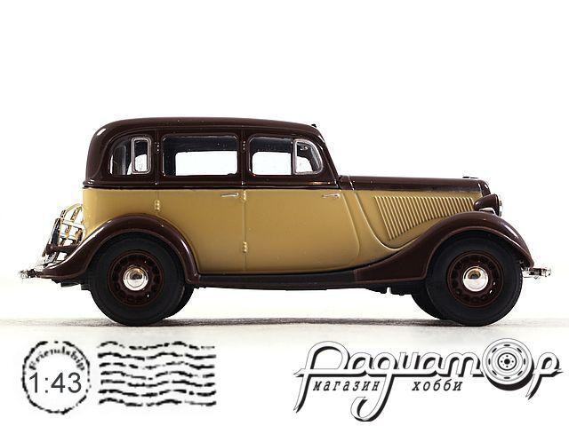 ГАЗ-М1 такси (1937) H751-B