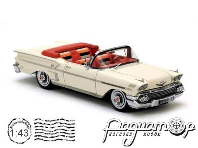 Chevrolet Bel Air Impala 2dr Convertible (1958) NEO44086