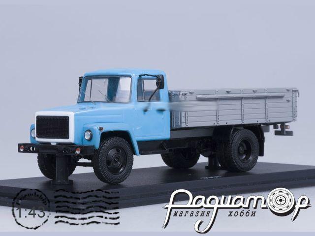 ГАЗ-3307 (двигатель ЗМЗ-513) деревяный борт (1989) SSM1150