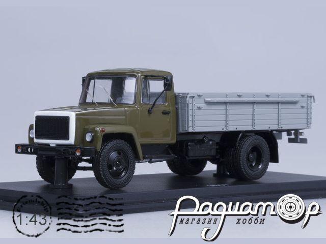 ГАЗ-3307 (двигатель ЗМЗ-513) деревяный борт (1989) SSM1151
