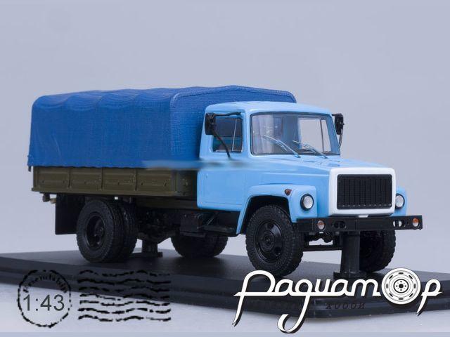 ГАЗ-33073 (двиг. ЗМЗ-513) Грузовое такси (1989)