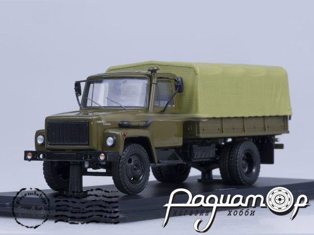 ГАЗ-3309 (двиг. Д-245.7 Diesel Turbo) с тентом (1994) SSM1153