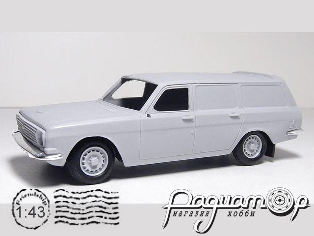 Транскит Scaldia-Volga M24D фургон (с фототравлением) (1984) MM1033