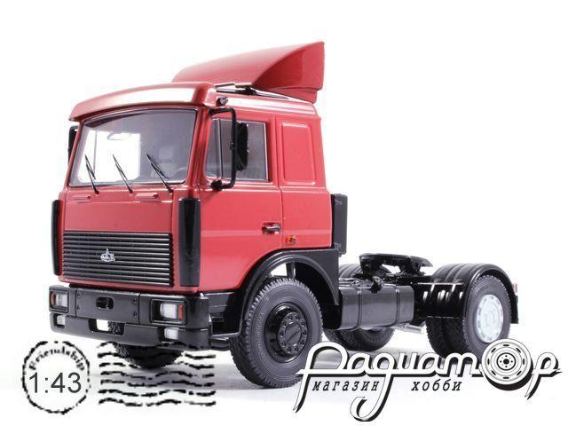 МАЗ-5432 седельный тягач, со спойлером (1989) SSM1173
