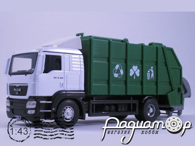 MAN TGS 18.320 мусоровоз (2011) 62019