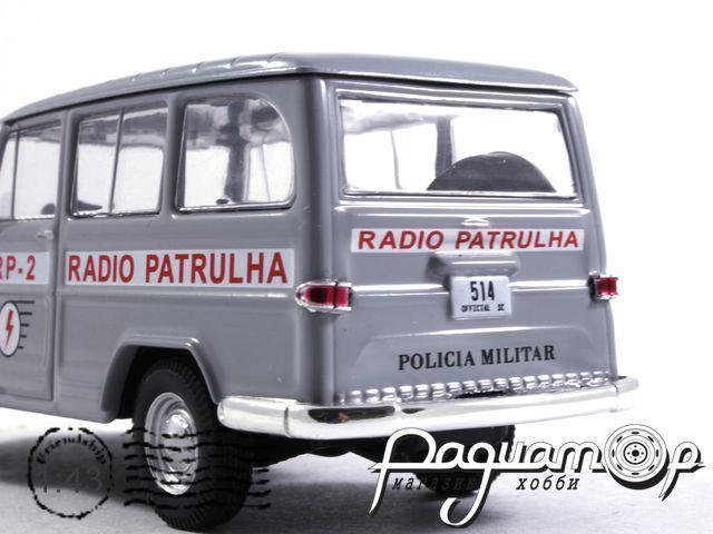 Полицейские машины мира №60, Willys Rural Wagon Полиция Бразилии (1960)