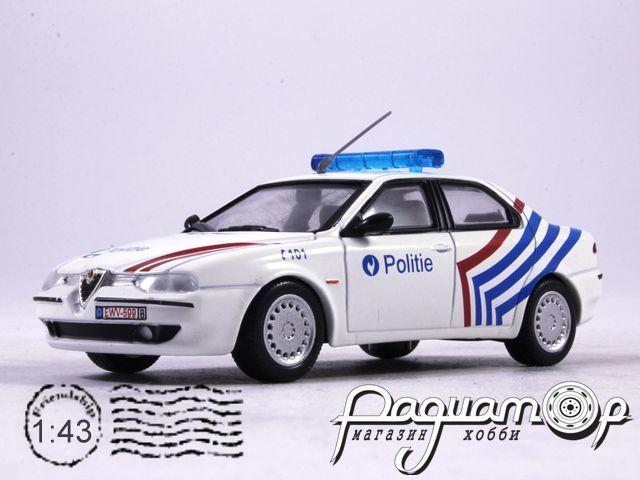 Полицейские машины мира №49, Alfa Romeo 156 Полиция Бельгии (1997)