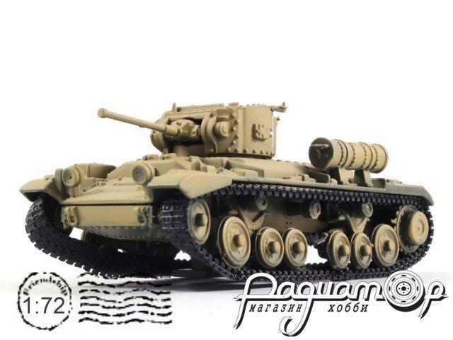 Танки Мира. Коллекция №11, Valentine Mk IV, Германия (трофейный, из Африканского корпуса Роммеля) (1940)