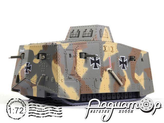 Танки Мира. Коллекция №9, Тяжелый танк A7V, Германия (1917)