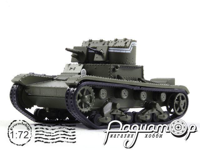 Танки Мира. Коллекция №5, Т-26 пушечный, СССР (1932)