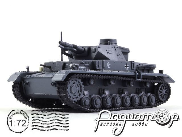 Танки Мира. Коллекция №2, Pz.Kpfw. IV Aust.E (окрас Вермахт), Германия (1936)