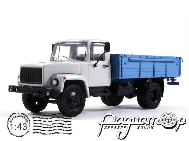 ГАЗ-3307 (двигатель ЗМЗ-513) деревянный борт (1989) 100329-W