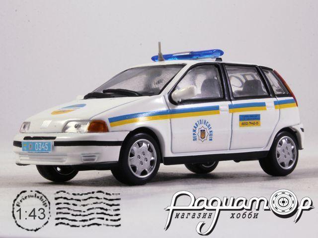 Fiat Punto ДПС Украины (1999) конверсия