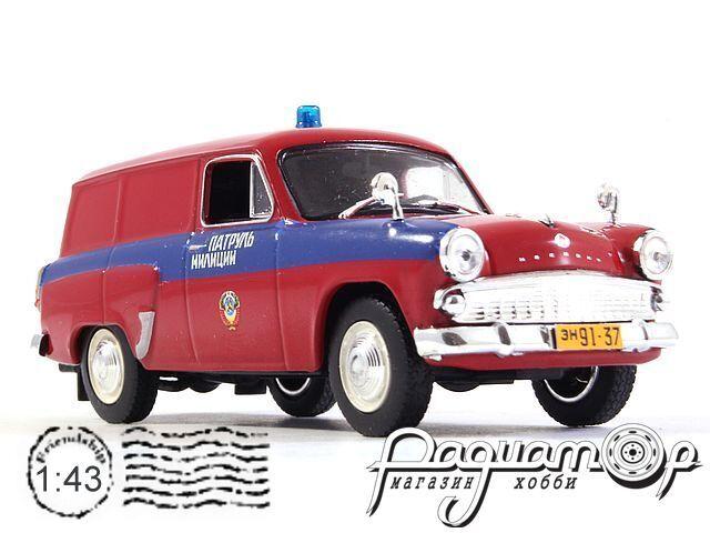 Москвич-430 Патруль Милиции (1958) 0773