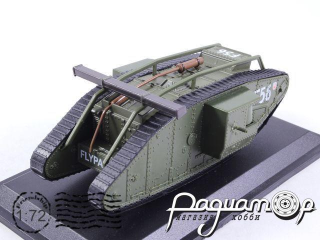 Танки мира №34, Британский танк Mk.IV Ромб (1920)