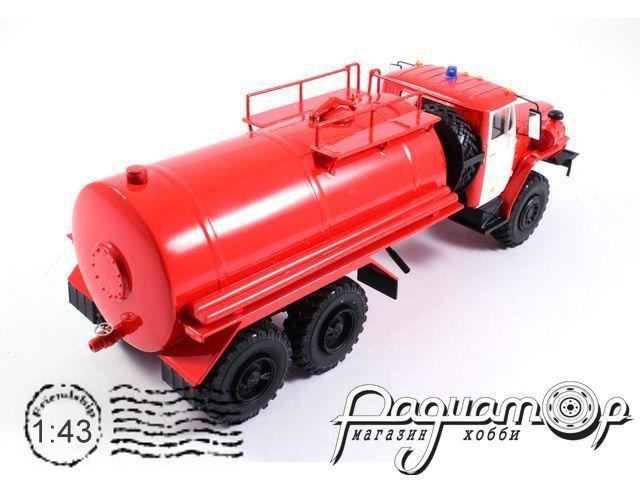 Урал-4320 пожарная автоцистерна (1985) NIK103