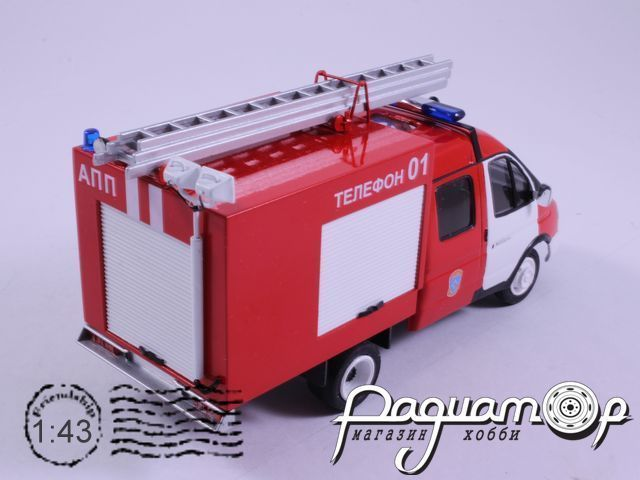ГАЗ-33023 «Дуэт» АПП пожарный (2000) NIK059