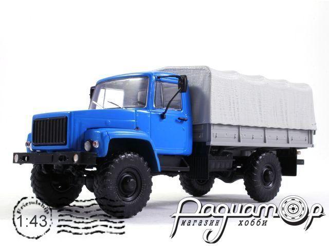 ГАЗ-3308 4х4 (двигатель ЗМЗ-513) с тентом (1997) 100329-B