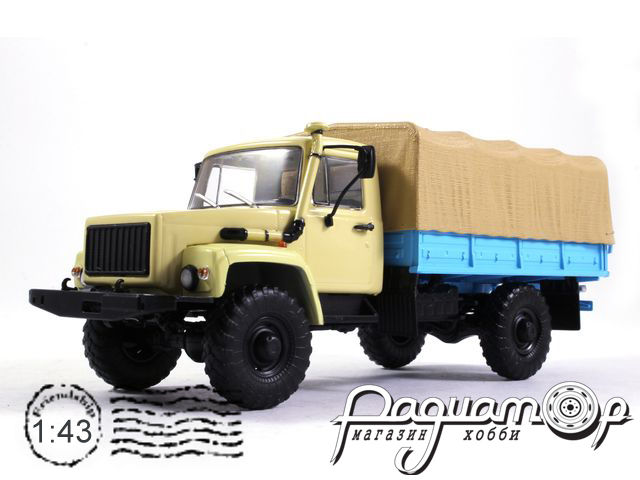 ГАЗ-33081 4х4 (двигатель ЗД-245.7 Diesel Turbo) бортовой (1997) 100350-W
