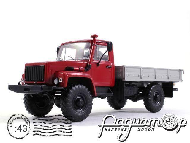 ГАЗ-33081 4х4 (двигатель ЗД-245.7 Diesel Turbo) бортовой (1997) 100350-R