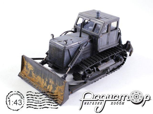 Бульдозер гидравлический ДЗ-54(Т-100МГП) с рыхлителем ДП-5 (1964) TR04M