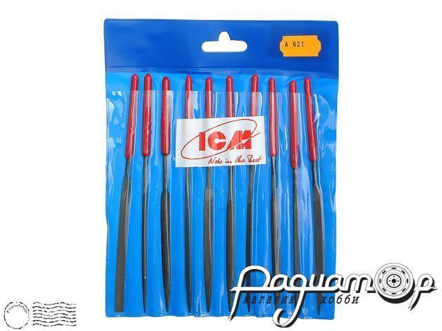 Набор надфилей с ручками (10шт) ICM-A621