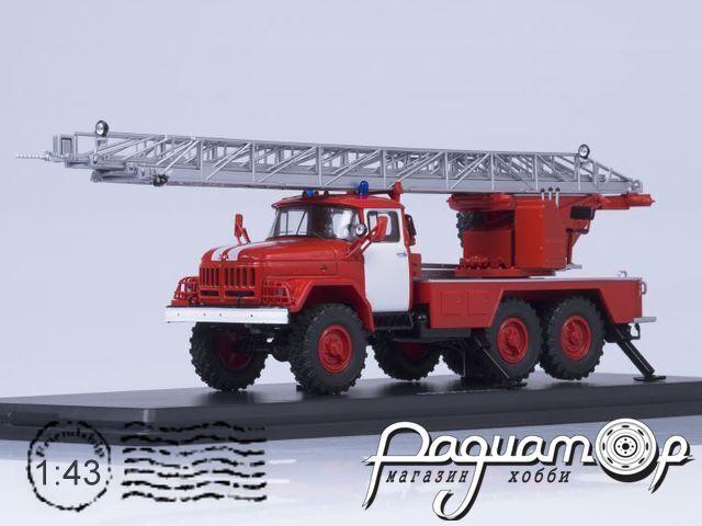 АЛ-30 (131) пожарная автолестница, с белыми полосами (1970) SSM1163