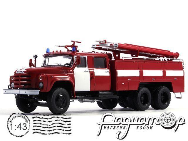 АЦ-40 (133ГЯ) пожарная автоцистерна, с полосами (1975) SSM1093