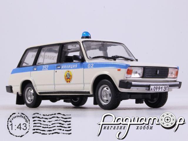 ВАЗ-2104 Милиция СССР (1984) 1664