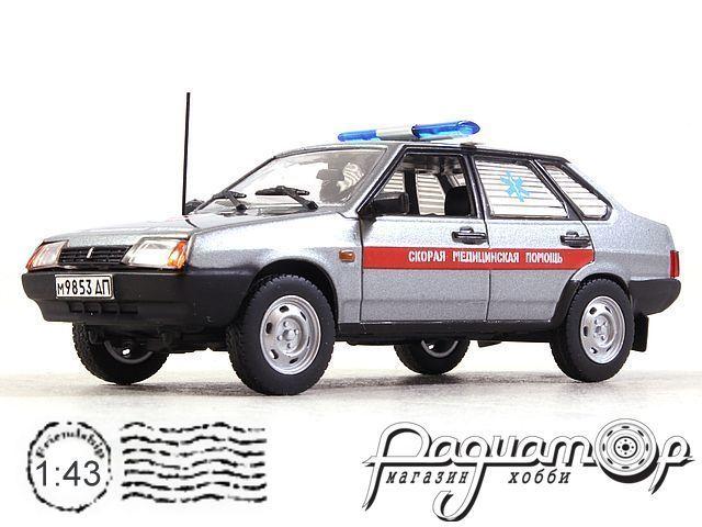 ВАЗ-21099 «Спутник» Скорая помощь (1990) конверсия