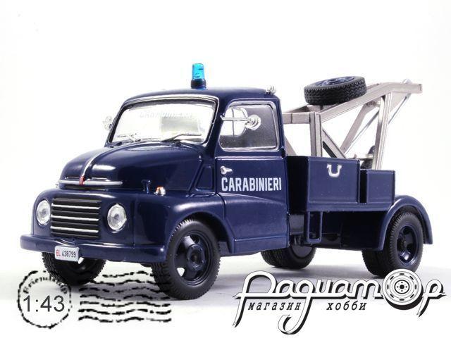 Полицейские машины мира №65, Fiat 615 Carabinieri Полиция Италии (1965)