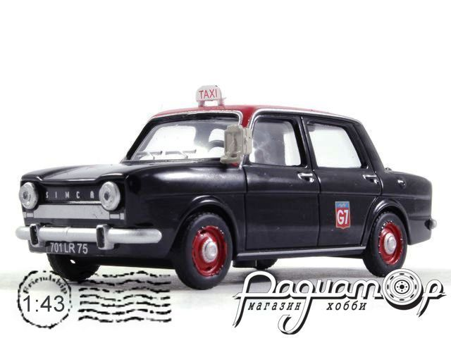 Simca 1000 Taxi Paris (1962) TSG19