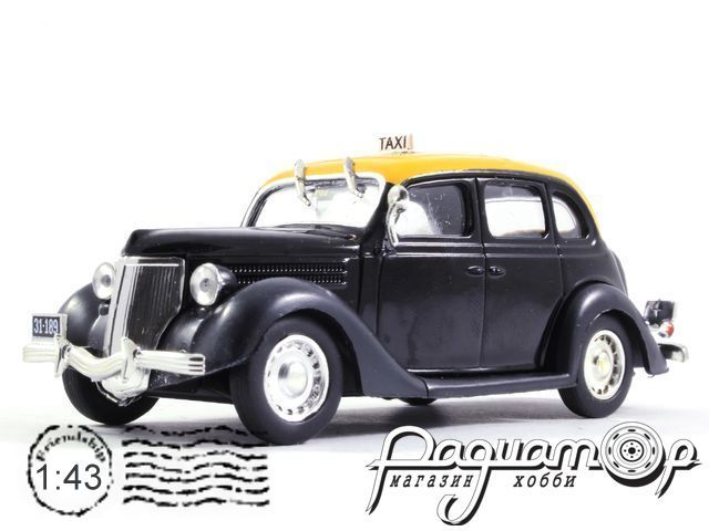 Ford V8 Taxi Montevideo (1950) TSG07
