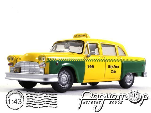 Checker Taxi San Francisco (1980) TSG18