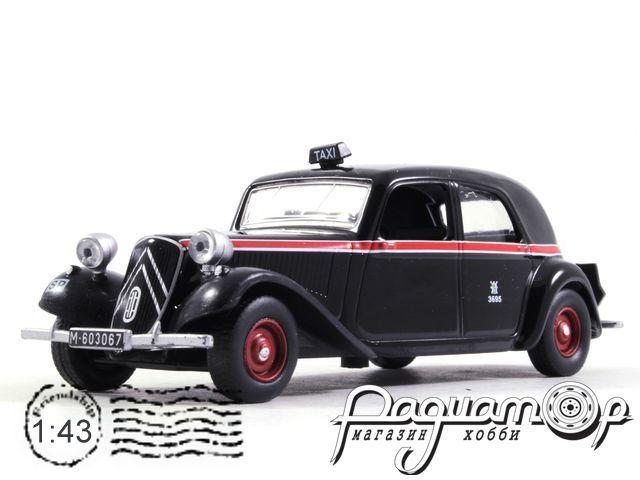 Citroen Traction Avant Taxi Madrid (1955) TS22